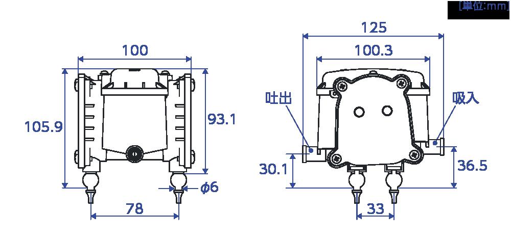 FC-0520Pの性能曲線